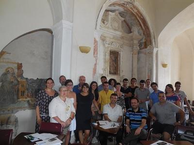 Allievi della Summer School ISBEM su Biostatistica ed Epidemiologia_2015_Convento dei Cappuccini_Mesagne