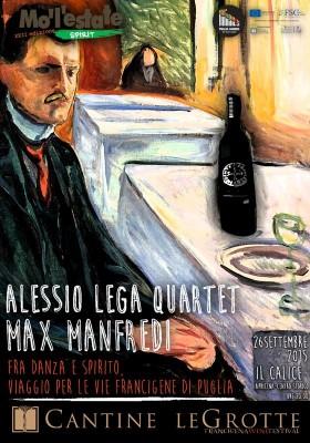 Alessio Lega, i Malfattori e Max Manfredi sabato 26 settembre ad Apricena