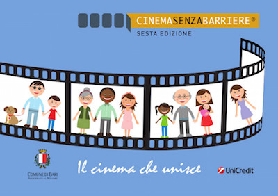 Cinema senza barriere a Bari