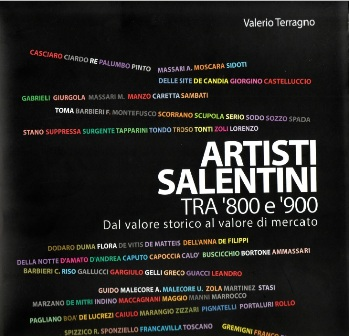 copertina 'artisti salentini tra '800 e '900'