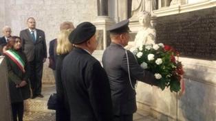 delegazione polacca omaggio boina sforza