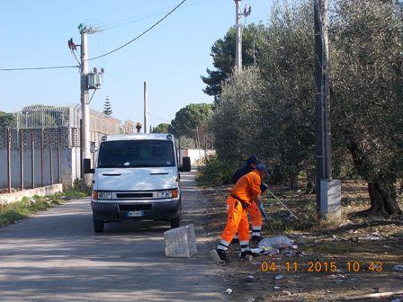 pulizia aree cittadine barletta