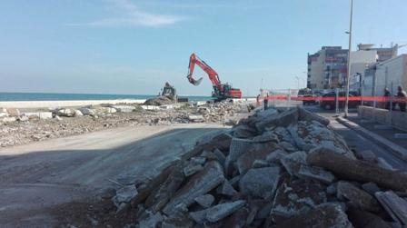 ripresa lavori waterfront bari