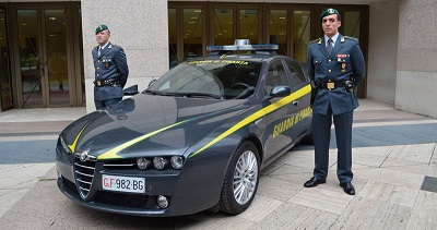 sequestrati beni Guardia di Finanza