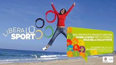 locandina 'libera lo sport' bari