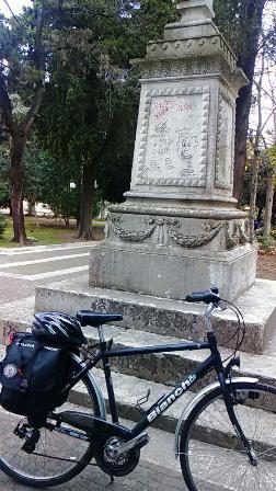 statua garibaldi lecce