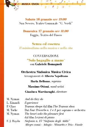 programma musica civica