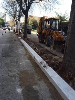 interventi manutenzione stradale in via lucarelli