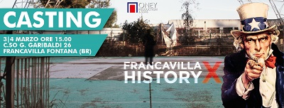 locandina casting francavilla history x