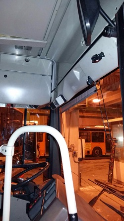 telecamere autobus