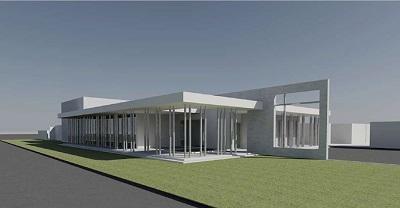 tempio crematorio botrugno - progetto