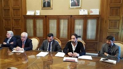 conferenza stampa nuovo progetto di raccolta differenziata a Bari