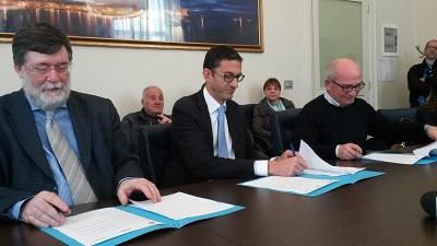 firma protocollo comune, asl, ause trani