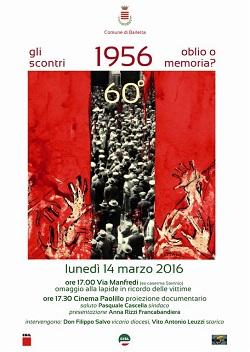 manifesto evento 'oblio o memoria'