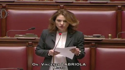 On. Vincenza Labriola