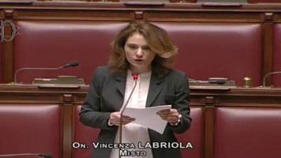 On. Vincenza Labriola