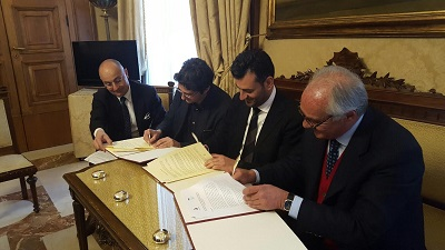 firma convenzione case dell'acqua