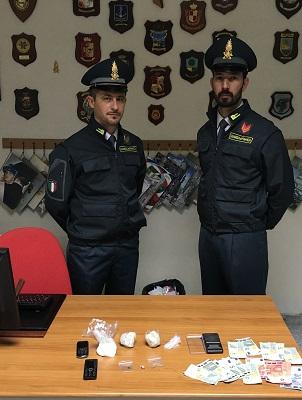 Altamura (BA) arresto per detenzione droga