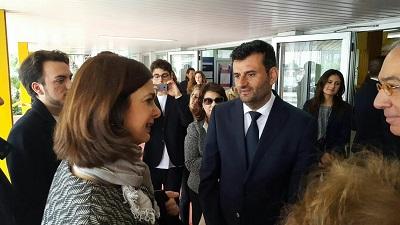 sindaco decaro incontra presidente boldrini