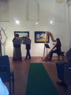 trio flauti arpa