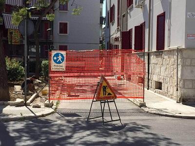 lavori manutenzione area gruppo 7 di viale japigia