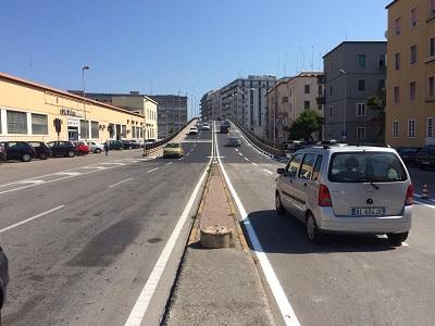 riapertuta del ponte di via Di Vagno - Galasso a Bari