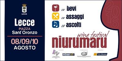 banner wine festival lecce