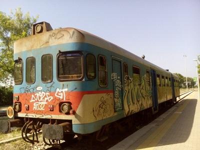 treno ferrovie del sud est