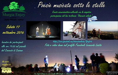 poesia musicate sotto le stelle