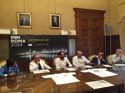 presentazione run with roma 2024