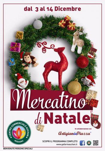 Mercatino Di Natale Dal 3 Al 14 Dicembre Nella Galleria Auchan Di