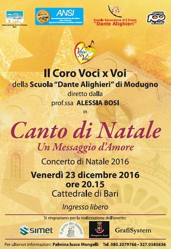 Canto di Natale a Bari