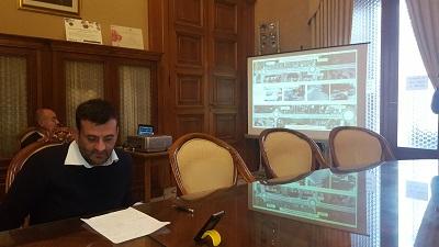 presentazione progetto allargamento di via amendola
