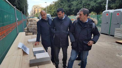 Bari, riqualificazione di via Sparano lo stato dei lavori