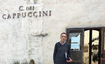 Don Carmelo GUARINI al Convento dei Cappuccini in Mesagne_2016