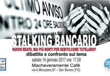 dibattito su Stalking bancario a Foggia