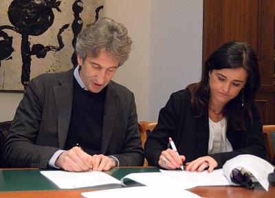 firma accordo cgil - comune lecce