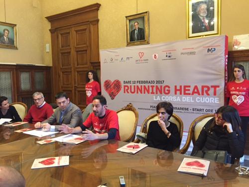 02-02-17 presentata la Running Heart corsa del cuore
