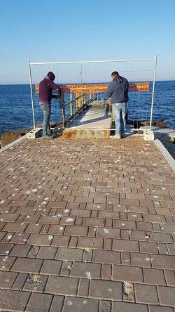 iniziati lavori di manutenzione spiaggia torre quetta