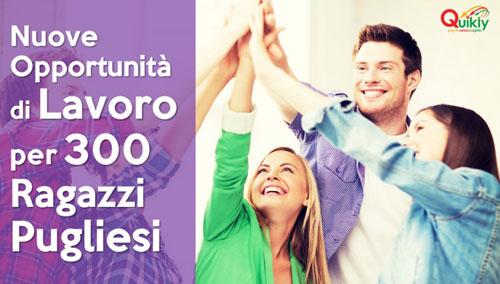 opportunità lavoro Puglia