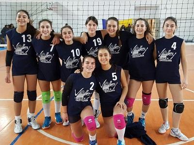 gruppo under 14 castellana volley