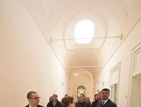 inaugurazione palazzo san michele bari