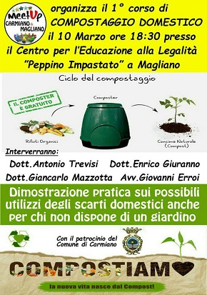 locandina compostaggio