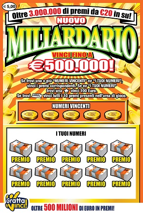 nuovo miliardario