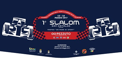 1° slalom marina di san cataldo logo e intestazione