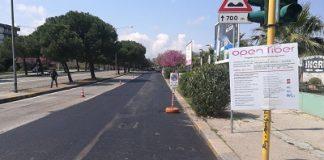 lavori ripristino stradale enel