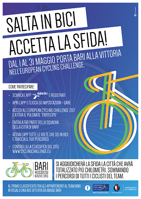 locandina european cycling challenge 2017
