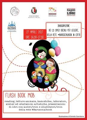 locandina flashbookmob