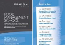 food management school - calendario
