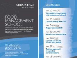 food management school - calendario
